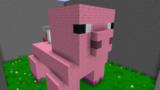 豚の体内からの脱出